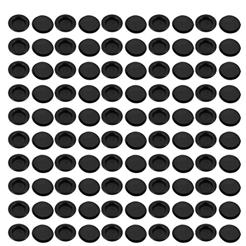 uxcell 100Pcs 20mm Drill Hole Diameter Electrical Rubber Wire Protection Grommet Gasket by uxcell