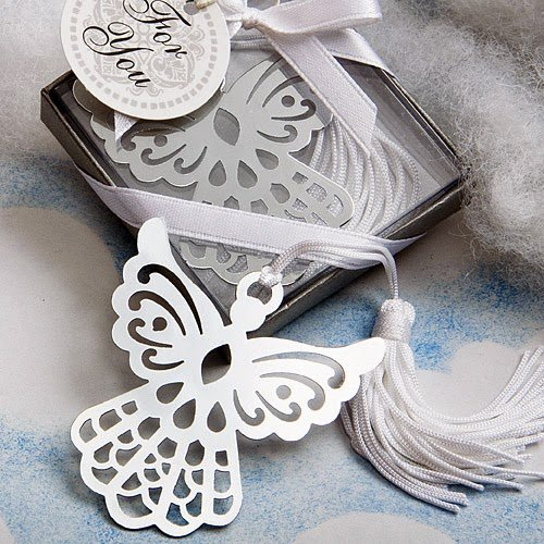 - 50 Book Lovers Collection Angel Bookmark Favors