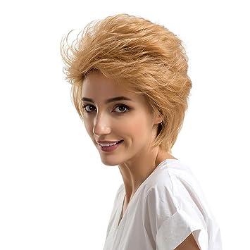 Amazon.com : YIYEZI Natural Short Curly Hair