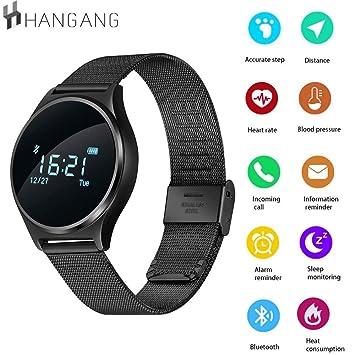 hangang Smartwatch Bluetooth, Reloj Inteligente Ultrafina ...