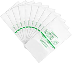 LINNIW 10 Pack 204814 Micron Magic HEPA Filter Plus Bags Compatible with Kirby Vacuums - Models G4, G5, Gsix, Ultimate G Series, Diamond Edition, Sentria, Sentria II, Avalir, Avalir II