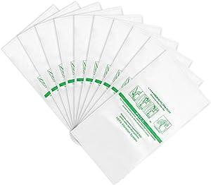 LINNIW 10 Pack 204814 Micron Magic HEPA Filter Plus Bags Compatible with Kirby Vacuums - Models G4, G5, Gsix, Ultimate G Series, Diamond Edition, Sentria, Sentria II, Avalir, Avalir II