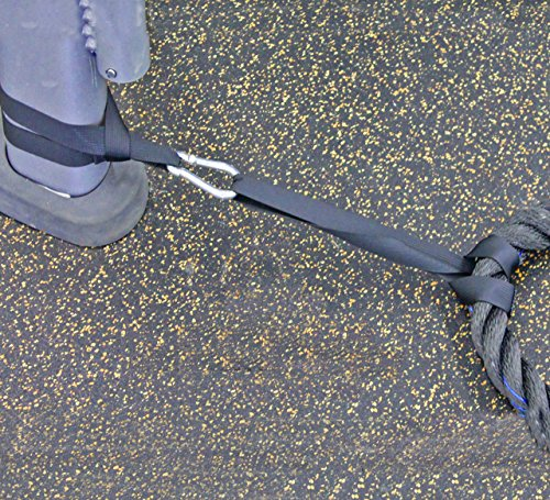 how to set up battle ropes