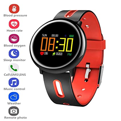 Amazon.com: elecfan Smart Watch with Pedometer, Fitness ...