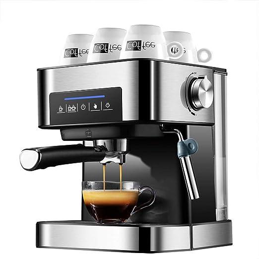KOUDAG Cafetera Nueva máquina de café Espresso 20 Bar Cafetera de Espuma de Leche al Vapor Cafetera/Mocha/Latte/Cappuccino: Amazon.es: Hogar