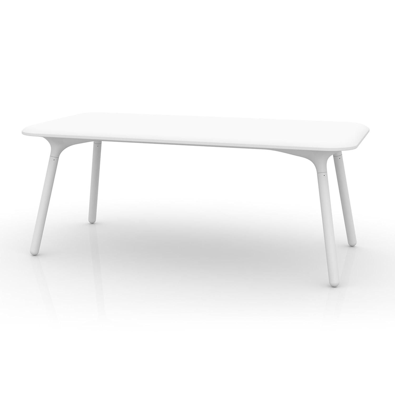 Amazon com vondom sloo mesa 180 white tables