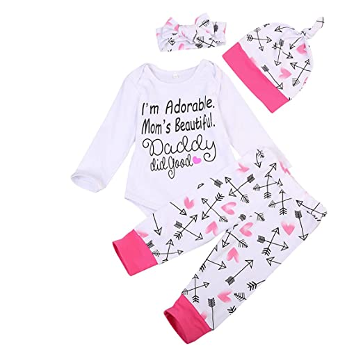 Amazoncom Mababy Newborn Infant Baby Boy Girl Famliy Saying