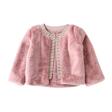 8f3a18b4f4fe HOMEBABY Kids Baby Girls Winter Faux Fur Coat