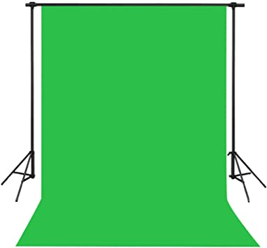 for Studio Lighting Kit Green Screen Muslin Backdrop Photography Background QINGYAN Photography Background Cloth
