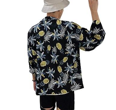 Siehin - Chaqueta de Estilo Kimono para Hombre, Estilo ...
