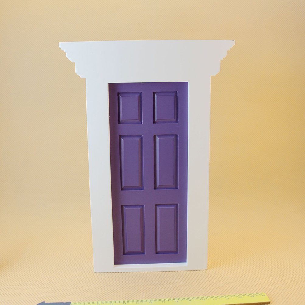 Buy TwinTraders 5. 63inch, Purple : TOYMYTOY 1:12 Scale Dollhouse on