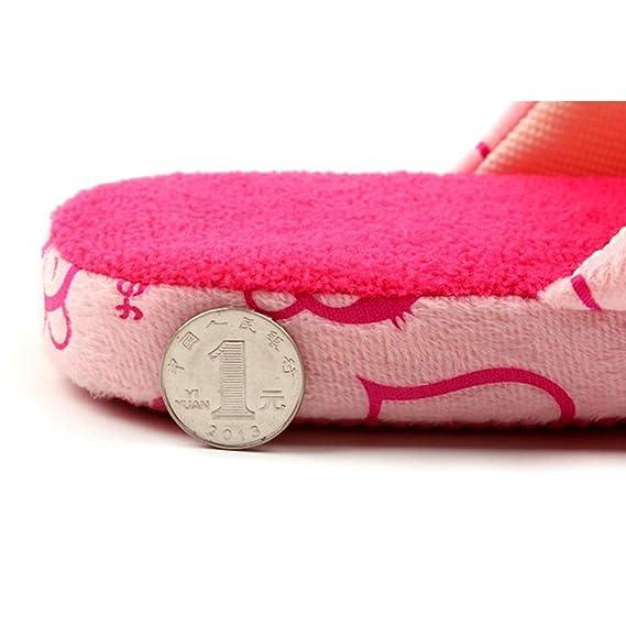 Amazon.com: Nafanio - Zapatillas de algodón unisex con ...