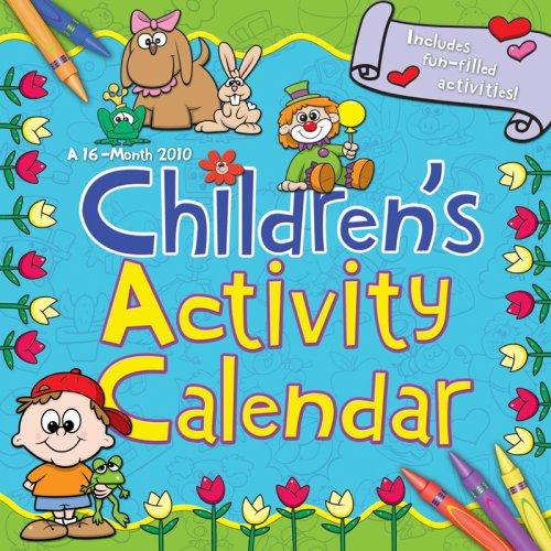 CHILDREN'S ACTIVITY CALENDAR 2010 Wall Calendar
