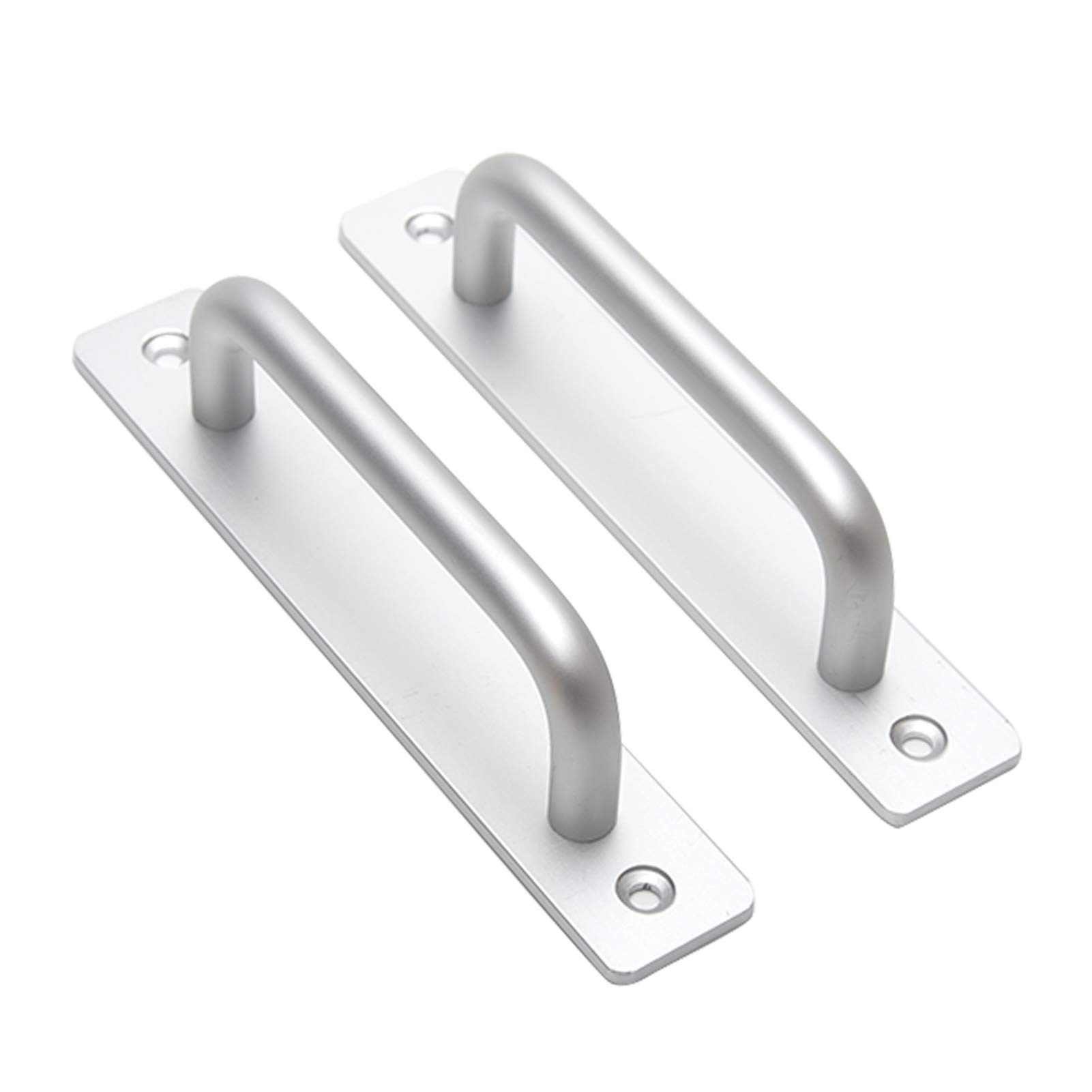 Black Aluminum Alloy Handle Pull Gate Shed Cabinet Handle for Sliding Door Z