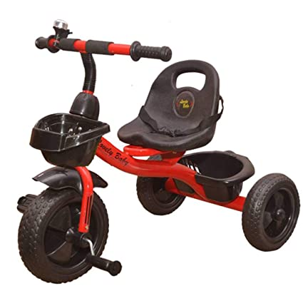 c06b952c141 Buy Lovely Baby Tricycle with Storage Basket and Bell Ride on Outdoor for  Children Up to 5 Year Online at Low Prices in India - Amazon.in