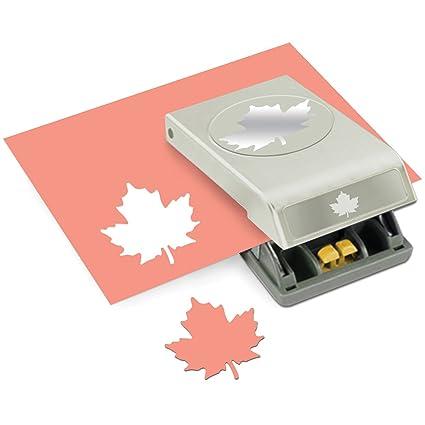 EK Tools Paper Punch Large Maple Leaf New Package