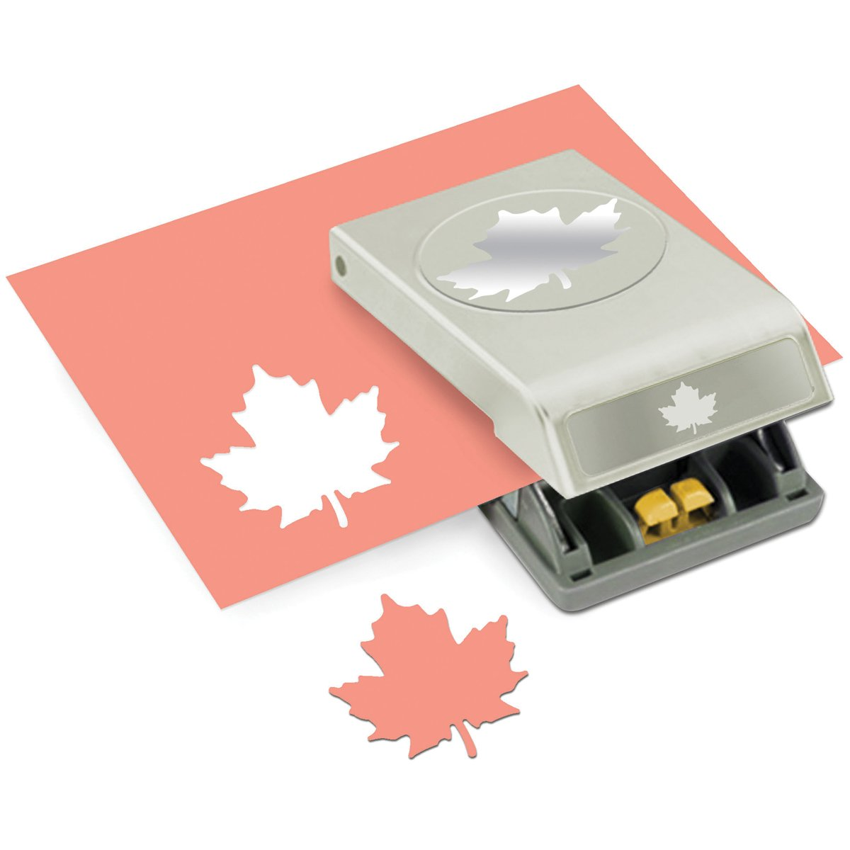 EK Tools Paper Punch, Large, Maple Leaf, New Package
