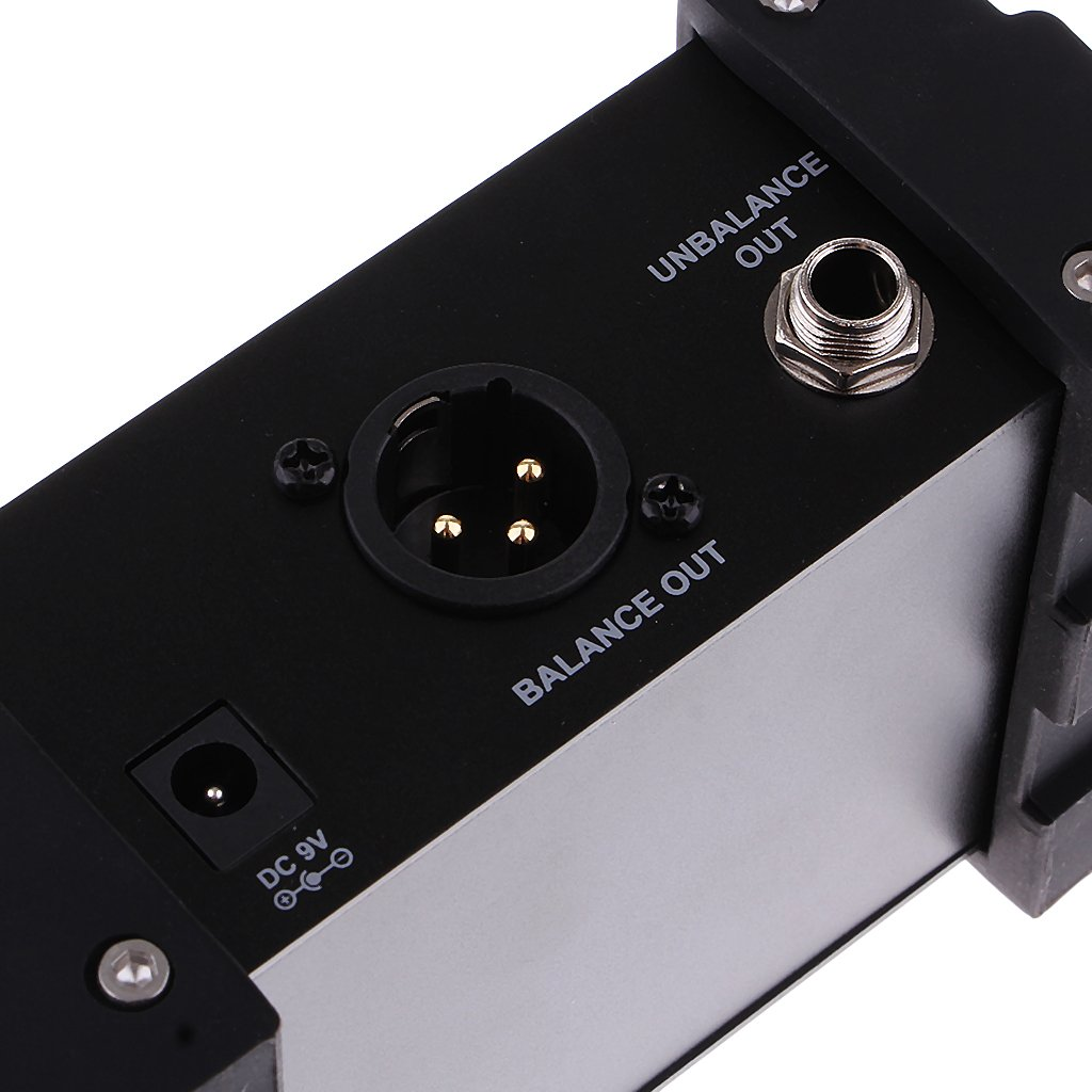 MagiDeal Professional NUX PDI-1G Guitar Direct Injection Phantom Power Box Audio Mixer Para Out by MagiDeal (Image #4)
