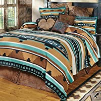 Blanket Rustic Farmhouse Cabin Décor for Couch, Chair, Bedding, Beach, Picnic