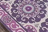 Momeni Rugs Suzani Hooks Collection, 100% Wool Hand