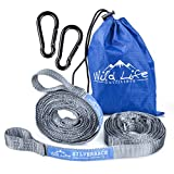HEAVY DUTY  Hang your hammock with complete ease and confidence using the Silverback strap system from Wild Life Outfitters. Rugged and reliable, our straps are made from high-strength tubular polyester webbing that won't wear out quickly or stretch ...