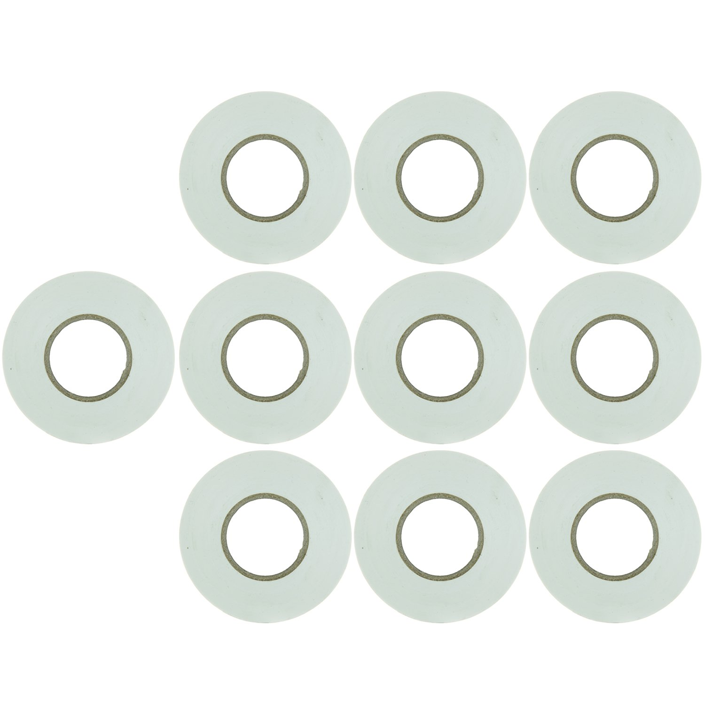 Sunlite E178 White ELECTRICAL Tape (10 Pack)