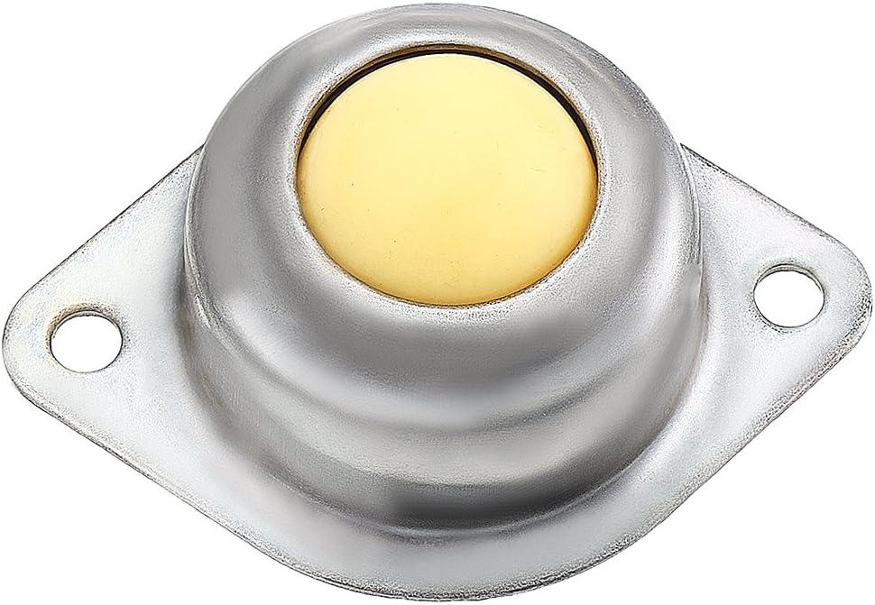 sourcingmap CY-25A 1 pollici in acciaio al carbonio a sfera a rullo trasportatore a flangia cuscinetto trasferimento 10pcs