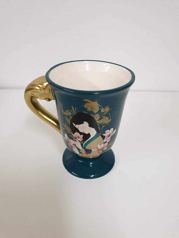 Juego de tetera de la colecci/ón Home Ware de Disney Mulan paquete de regalo Cup Set verde botella