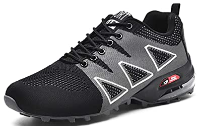 b1ef77f8065c XIANV Men Hiking Shoes Sneaker Outdoor Climbing Trekking Shoes Mountain  Shoes 39-47 (7.5
