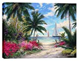 Cortesi Home ''Sea Breeze Trail'' by Chuck Pinson, Giclee Canvas Wall Art, 40''x 54''