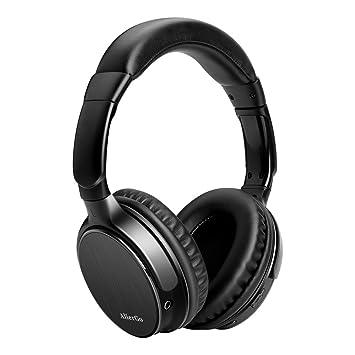 Auriculares Bluetooth de Diadema, AlierGo Auriculares Inalámbricos con Micrófono CVC 6.0, 22 Horas de