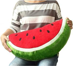 Bettli Watermelon Plush Cotton Food Figure Toy Doll Pillow Kawaii Cute Cushion