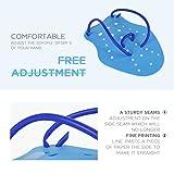 Sarissa Swimming Hand Paddles, Swim Training Hand