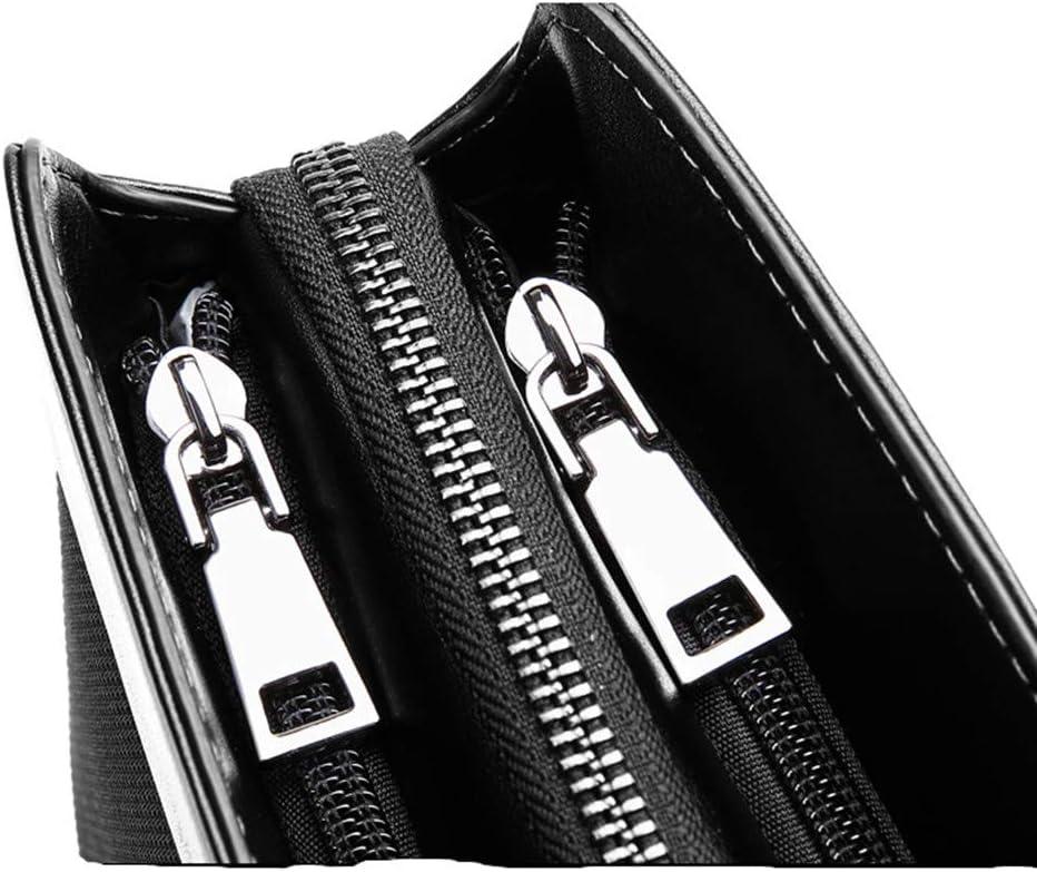 FeliciaJuan Handmade Leather Briefcase Mens Bag Handbag Oxford Cloth 14 Inch Computer Bag Mens Business Briefcase