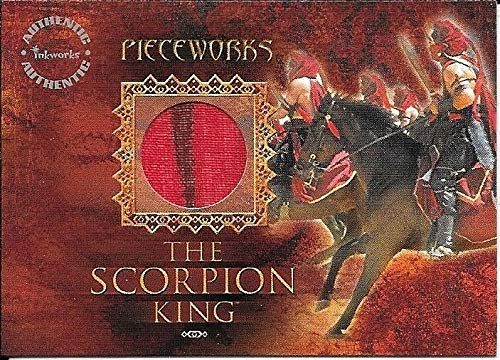 2002 Inkworks The Scorpion King Pieceworks #PW4 The
