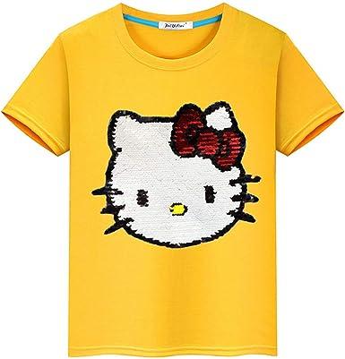 Lee little Angel Chicas Personalizadas Flash Camiseta de lenteen mágicas (Adecuado para 3-12 años de Edad)