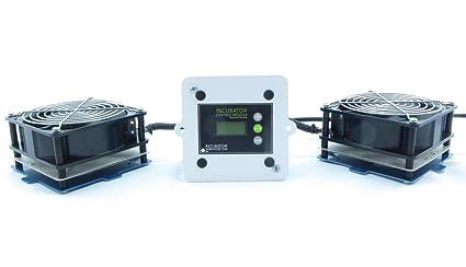 IncuKit XL for Cabinet Incubators (IncuStat Advanced Thermostat, 2 x Fan/Heater Unit (250 Watts))