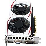 Demiawaking Scheda Grafica Video GTX 750Ti 2GB 128Bit GDDR5 Scheda Video Gaming HD PC per NVIDIA GeForce