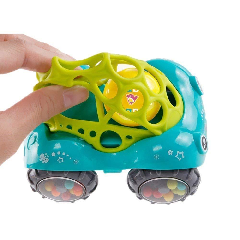 1Rouge Voiture +1 Vert Voiture V/éhicule Miniature Mignon Jouet avec Son pour B/éb/é Cadeau Id/éal pour Gar/çon Fille forepin Jouet Voiture