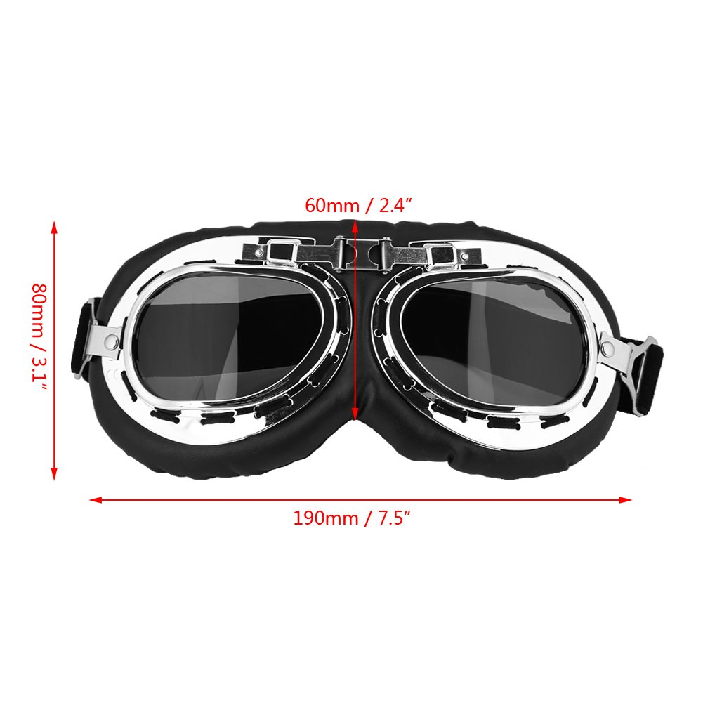 Motorcycle Motocross Goggles Windproof Anti-UV Goggles Outdoor Snow Skiing Snowboarding Protective Glasses Dirt bike ATV Motorcycle Gafas Smoke