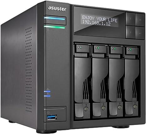 Asustor AS7004T-I5 Servidor de Almacenamiento Ethernet Negro NAS ...
