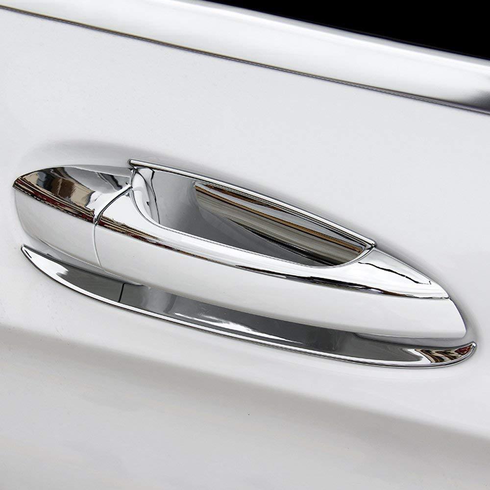 Auto-Au/ßenzubeh/ör-ABS-T/ürgriff-Abdeckungs-Ordnung f/ür B C W246 W204 W212 GLK X204 ML W166 CLA W117 EINWEG