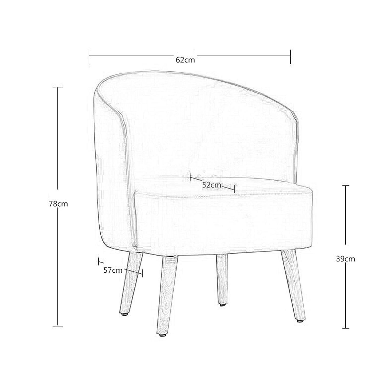 Fritid soffstol matstol kaffestol accentstol omklädningsrum stol kontor möte stol hår salong sminkstol sovrum vardagsrum lässtol ryggstöd fåtölj Mörkgrått