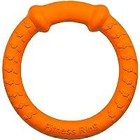 LaRoo Chien Jouet, Dog Flying Ring Flying Disc Anneau de Fitness Non Toxique pour Les Chiens