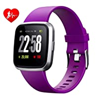 H4 Fitness Health 2in1 Smart Watch for Men Women Smartwatch with All-Day Heart Rate...