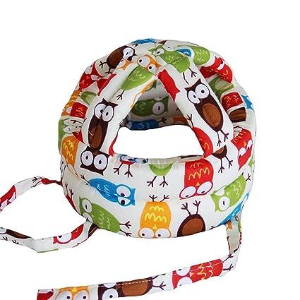 Aolvo Casco de Seguridad para Bebé para Aprender Andar Gatear Caminar db85b886459