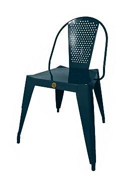 316 Paris Chaise Bistrot Design 316paris Inox Coloris Gris
