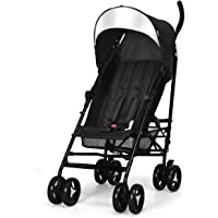 INFANS Lightweight Baby Umbrella Stroller, Foldable Infant Travel Stroller with Carry Belt, 4 Position Recline…