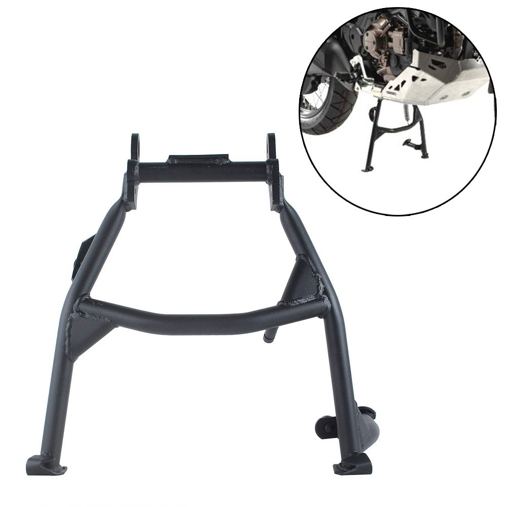 FATExpress Motorcycle Black Steel Center Foot Stand Mount Centerstand for 2016-2018 Honda CRF 1000 L CRF1000L Africa Twin DCT 2017 16-18