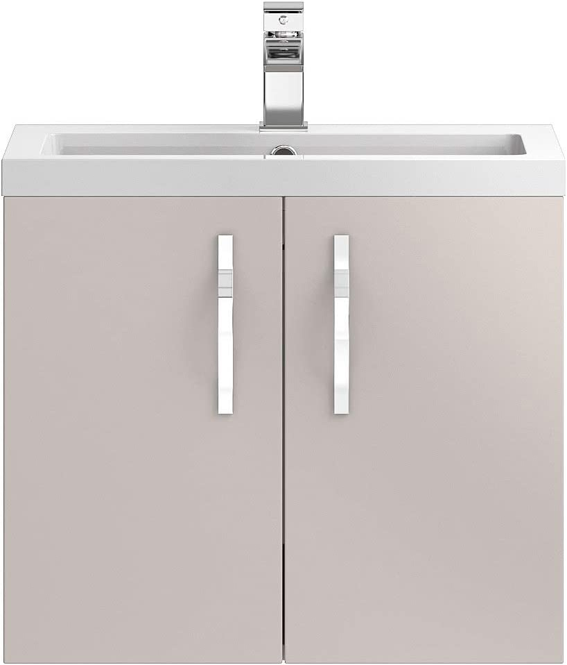 Hudson Reed Wall Hung 600 Cabinet /& Basin